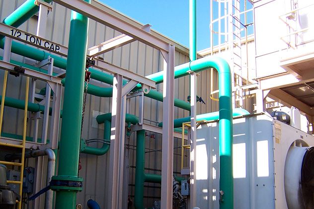 Steel Structures Amp Pipes Moffett Commercial Amp Industrial